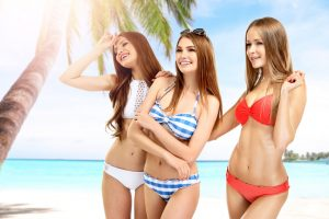 Modern bikini, vintage bikini, bikini fashion, stylish bikini,