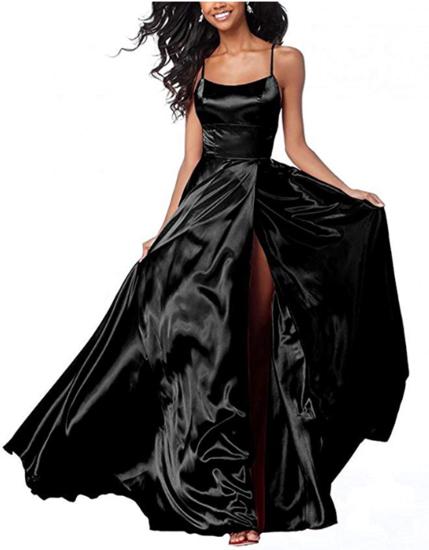 Halter Black Prom Dress