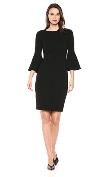 Black Sheath Dress Show Your True Form as Never Before 1
