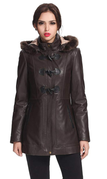 Most Fashionable Women Fashion Leather Jackets Trendy Review 1