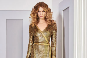 Sequin Open Back Dress Sexy Story Revealed
